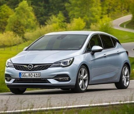 Nieuwe Opel Astra 5 deurs