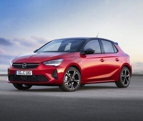 Nieuwe Opel Corsa