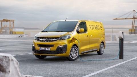 Afbeelding voor De Opel Vivaro vanaf 2020 ook als elektrische variant