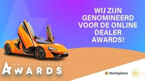 Afbeelding voor Wij zijn genomineerd!