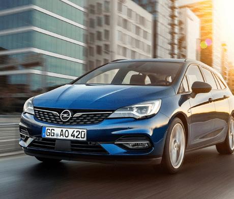Nieuwe Opel Astra Sports Tourer